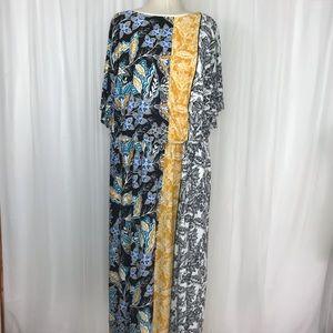 2X London Times Paisley Midi Dress